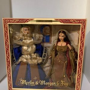 Vintage Magic & Mystery, Merlin & Morgan Barbie